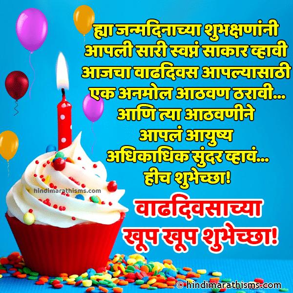 Marathi Shubhechha Status Birthday