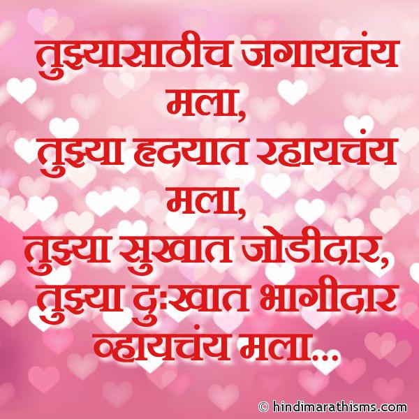 Tujhyasathich Jagaychay Mala