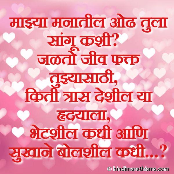 Bhetshil Kadhi Ani Bolshil Kadhi
