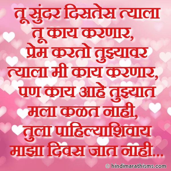 Tula Pahilyashivay Divas Jaat Nahi