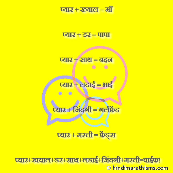 WIFE Funny Definition Hindi