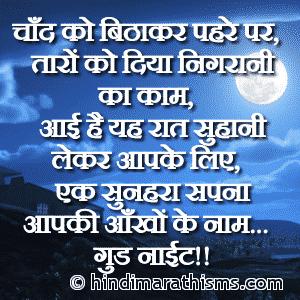 Chand Ko Bithakar Pahre Par