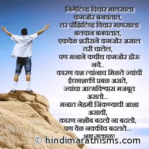 Negative Vichar Mansala Kamjor Banavtat