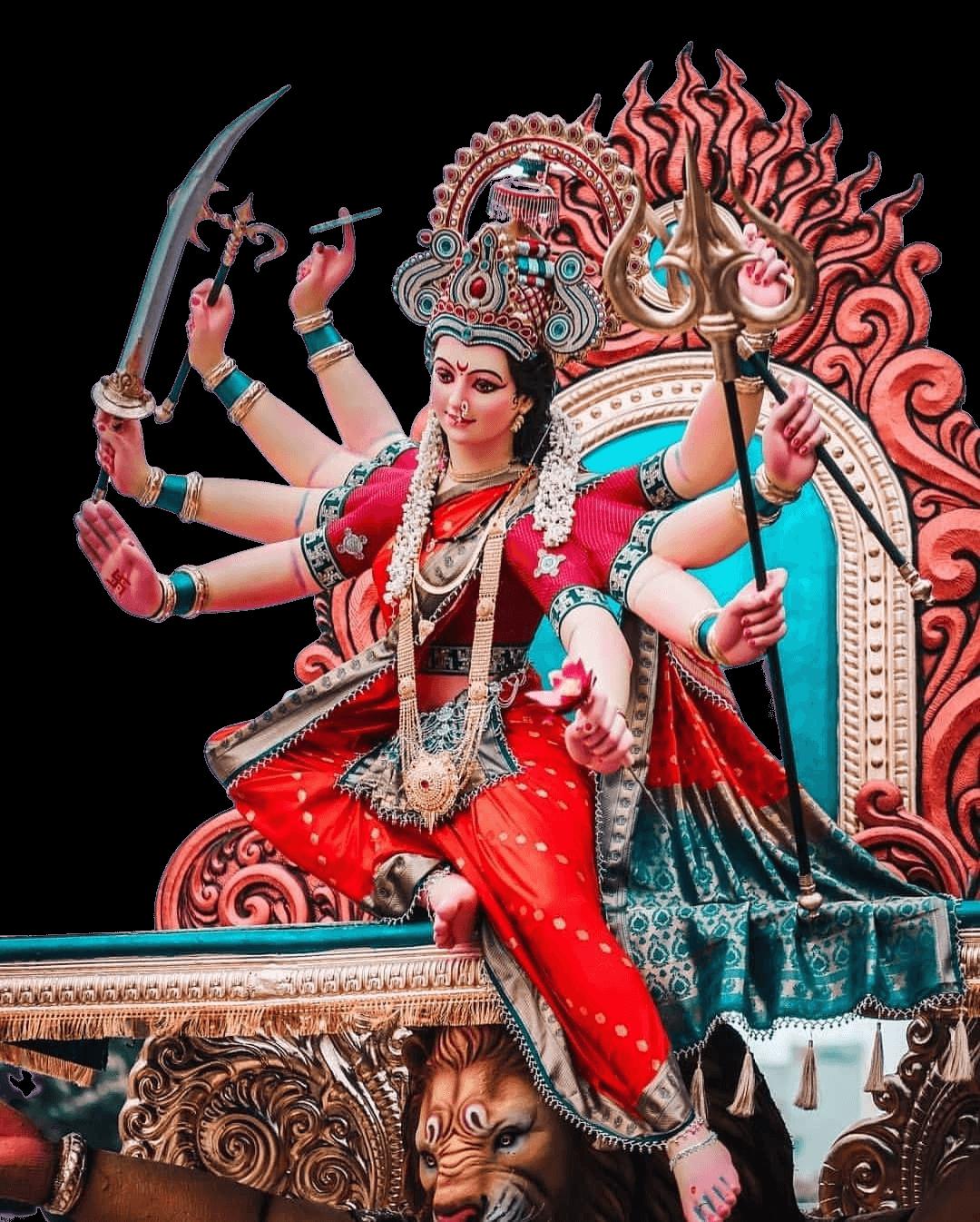 Durga Maa PNG